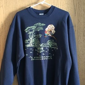 Men's Fruit Of The Loom Embroidered Sweatshirt